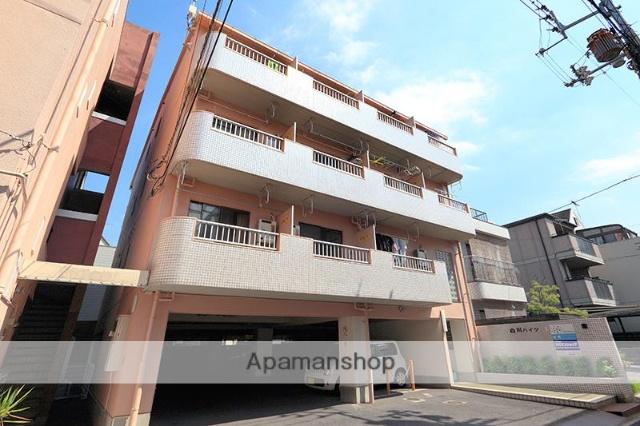 香川県高松市、栗林駅徒歩6分の築27年 4階建の賃貸アパート