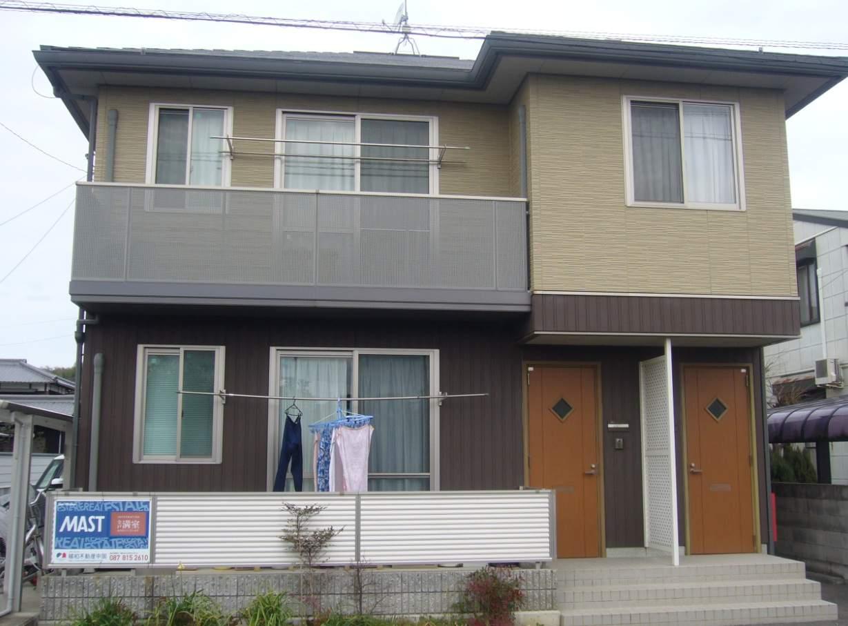 香川県三豊市、詫間駅徒歩37分の築9年 2階建の賃貸アパート