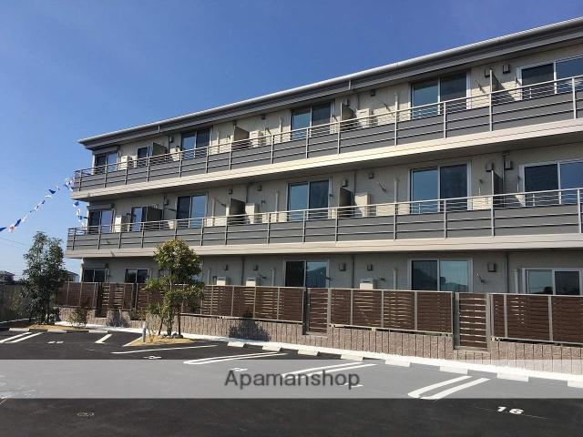 香川県丸亀市、金蔵寺駅徒歩11分の新築 3階建の賃貸マンション