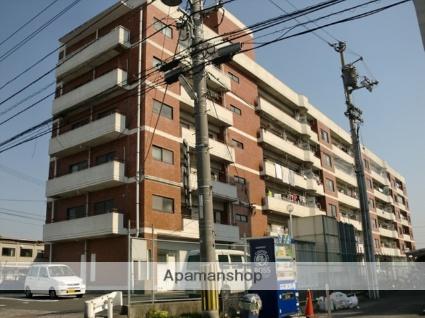 愛媛県松山市、衣山駅徒歩13分の築38年 6階建の賃貸マンション