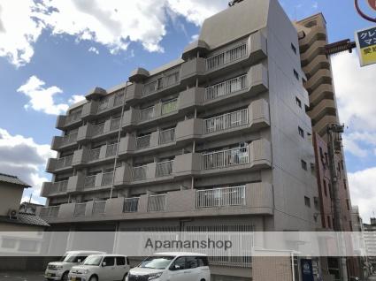 愛媛県松山市、平和通1丁目駅徒歩6分の築35年 6階建の賃貸マンション