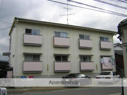 愛媛県松山市、市坪駅徒歩31分の築34年 2階建の賃貸アパート