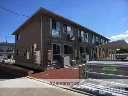 愛媛県松山市、市坪駅徒歩18分の新築 2階建の賃貸アパート