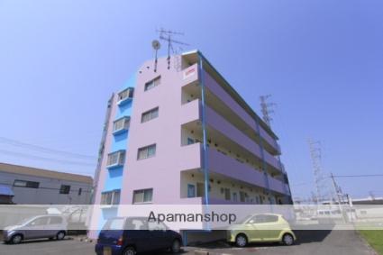 愛媛県松山市、伊予北条駅徒歩12分の築27年 4階建の賃貸マンション