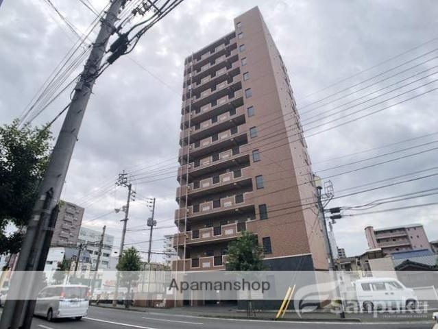 愛媛県松山市、萱町6丁目駅徒歩3分の築13年 13階建の賃貸マンション