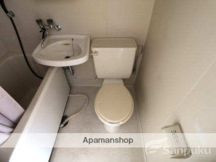 愛媛県松山市緑町2丁目[1R/18.95m2]のトイレ