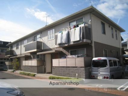 愛媛県松山市、余戸駅徒歩14分の築2年 2階建の賃貸アパート