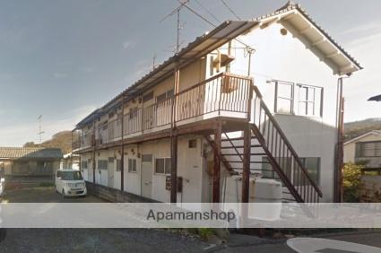 愛媛県松山市、高砂町駅徒歩30分の築34年 2階建の賃貸アパート