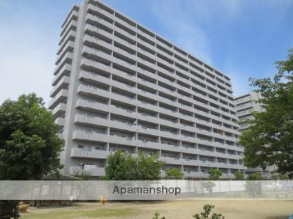 愛媛県松山市、三津浜駅徒歩10分の築27年 13階建の賃貸マンション