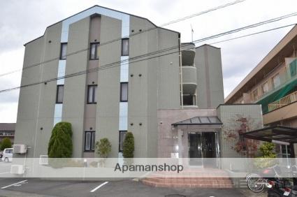 愛媛県東温市、横河原駅徒歩37分の築12年 3階建の賃貸マンション