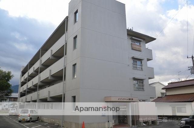 愛媛県東温市、見奈良駅徒歩19分の築35年 4階建の賃貸マンション