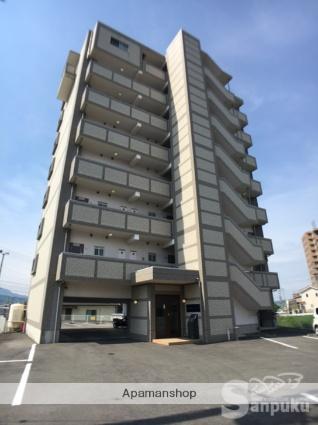 愛媛県東温市、梅本駅徒歩15分の築10年 8階建の賃貸マンション