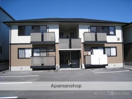 愛媛県伊予市、鳥ノ木駅徒歩11分の築17年 2階建の賃貸アパート