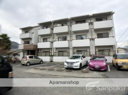 愛媛県松山市、久米駅徒歩5分の築21年 3階建の賃貸マンション