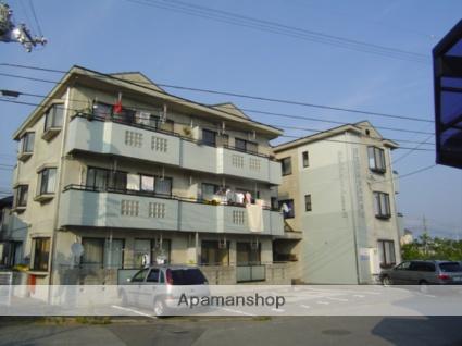 愛媛県東温市、牛渕団地前駅徒歩5分の築22年 3階建の賃貸マンション