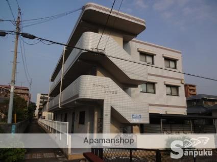 愛媛県松山市、松山駅徒歩11分の築22年 3階建の賃貸マンション