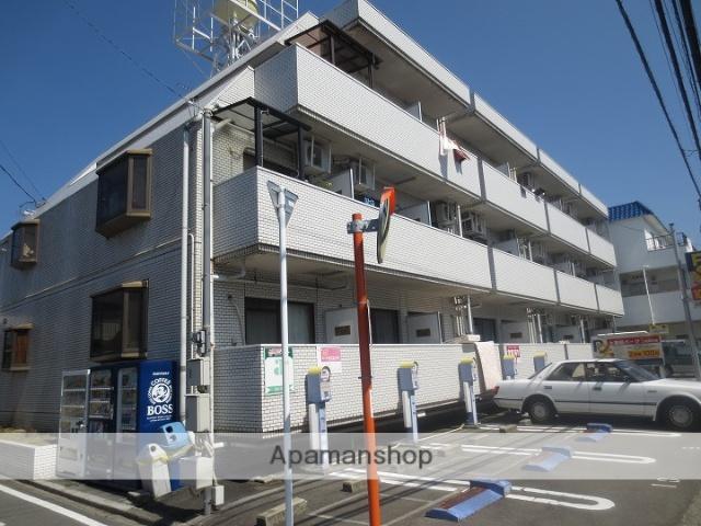 愛媛県松山市、土橋駅徒歩22分の築31年 3階建の賃貸マンション