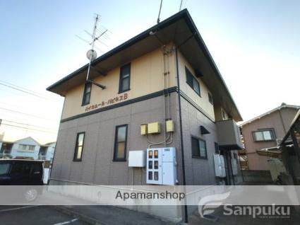 愛媛県松山市の築21年 2階建の賃貸アパート
