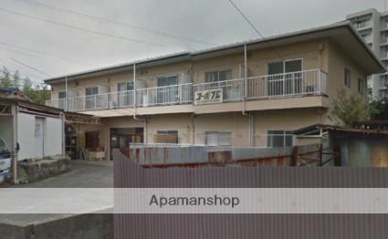 愛媛県松山市、勝山町駅徒歩18分の築39年 2階建の賃貸アパート