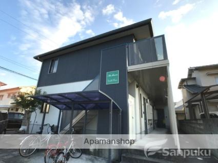 愛媛県松山市、平井駅徒歩17分の築13年 2階建の賃貸アパート