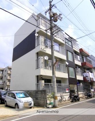 愛媛県松山市、松山市駅徒歩6分の築32年 4階建の賃貸マンション