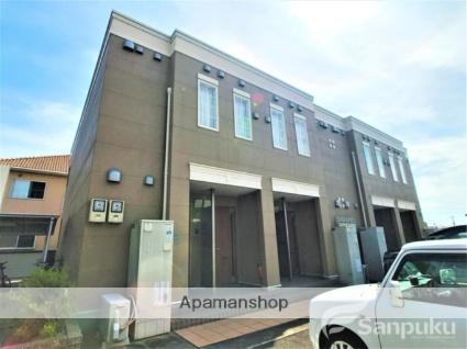 愛媛県松山市、余戸駅徒歩11分の築4年 2階建の賃貸アパート