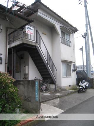 愛媛県松山市、市坪駅徒歩19分の築28年 2階建の賃貸アパート