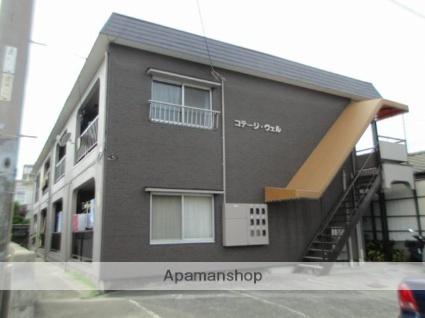 愛媛県松山市、三津浜駅徒歩22分の築35年 2階建の賃貸アパート