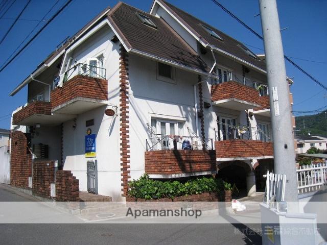 愛媛県松山市、福音寺駅徒歩18分の築27年 3階建の賃貸マンション
