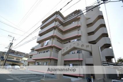 愛媛県松山市、余戸駅徒歩7分の築28年 6階建の賃貸マンション