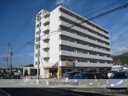 愛媛県東温市、愛大医学部南口駅徒歩11分の築28年 7階建の賃貸マンション