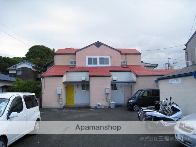 愛媛県松山市、土居田駅徒歩48分の築23年 2階建の賃貸アパート