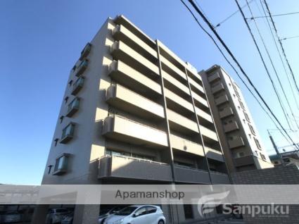 愛媛県松山市、平和通1丁目駅徒歩12分の築12年 9階建の賃貸マンション