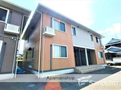 愛媛県東温市、見奈良駅徒歩19分の築12年 2階建の賃貸アパート