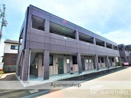 愛媛県伊予郡松前町、地蔵町駅徒歩4分の築14年 2階建の賃貸マンション