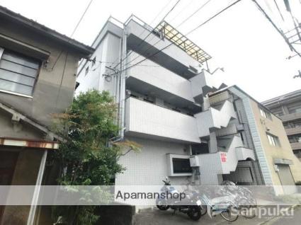 愛媛県松山市、平和通1丁目駅徒歩5分の築21年 4階建の賃貸マンション