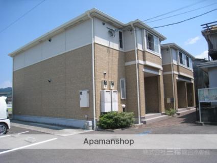 愛媛県伊予市、伊予市駅徒歩12分の築8年 2階建の賃貸アパート