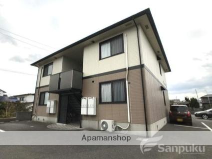 愛媛県伊予市、鳥ノ木駅徒歩17分の築16年 2階建の賃貸アパート