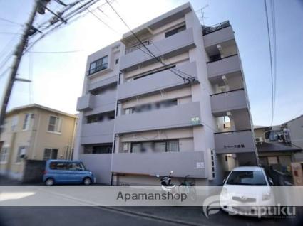 愛媛県松山市、上一万駅徒歩10分の築27年 4階建の賃貸マンション