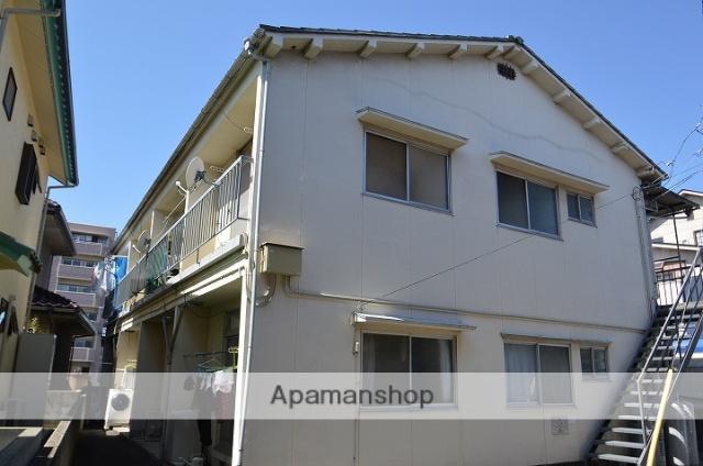 愛媛県松山市、松山駅徒歩24分の築40年 2階建の賃貸アパート