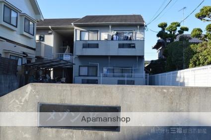 愛媛県伊予郡松前町、鎌田駅徒歩20分の築30年 2階建の賃貸アパート