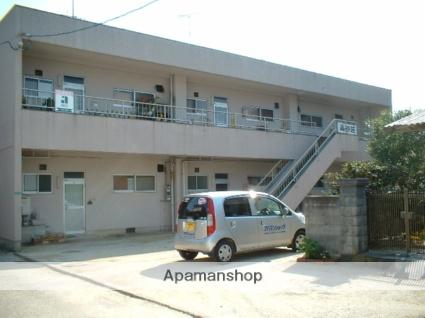 愛媛県松山市、いよ立花駅徒歩23分の築43年 2階建の賃貸アパート