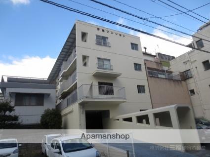 愛媛県松山市、大手町駅徒歩4分の築92年 4階建の賃貸マンション