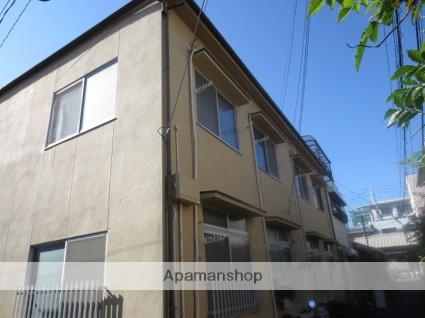 愛媛県松山市、石手川公園駅徒歩15分の築36年 2階建の賃貸アパート