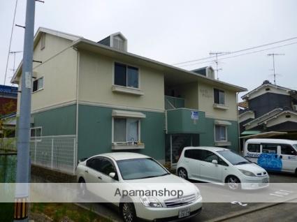 愛媛県松山市、松山駅徒歩23分の築23年 2階建の賃貸アパート