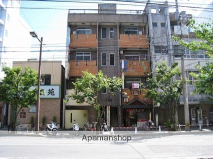 愛媛県松山市、県庁前駅徒歩10分の築31年 4階建の賃貸マンション