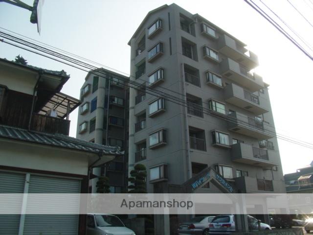 愛媛県松山市、松山駅徒歩9分の築25年 7階建の賃貸マンション