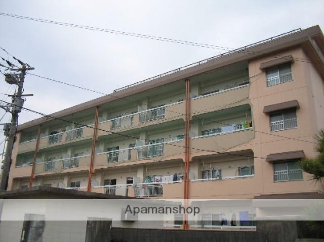 愛媛県東温市、見奈良駅徒歩13分の築39年 4階建の賃貸マンション