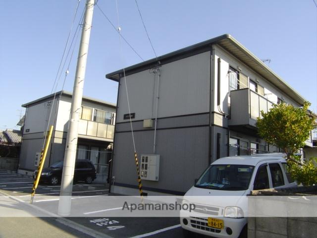 愛媛県伊予郡松前町、岡田駅徒歩18分の築19年 2階建の賃貸アパート