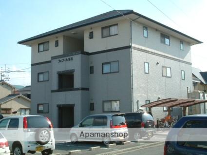 愛媛県松山市、土橋駅徒歩19分の築20年 3階建の賃貸アパート